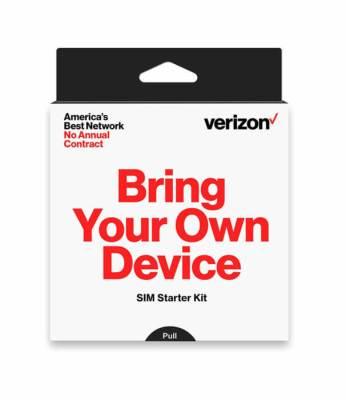 VerizonプリペイドSIMカード