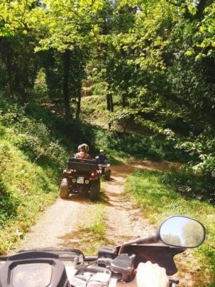 quad safari crete