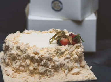 Finished with Crushed Meringue