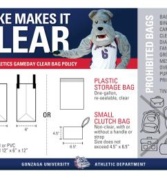 clear bag policy graphic [ 2000 x 1294 Pixel ]