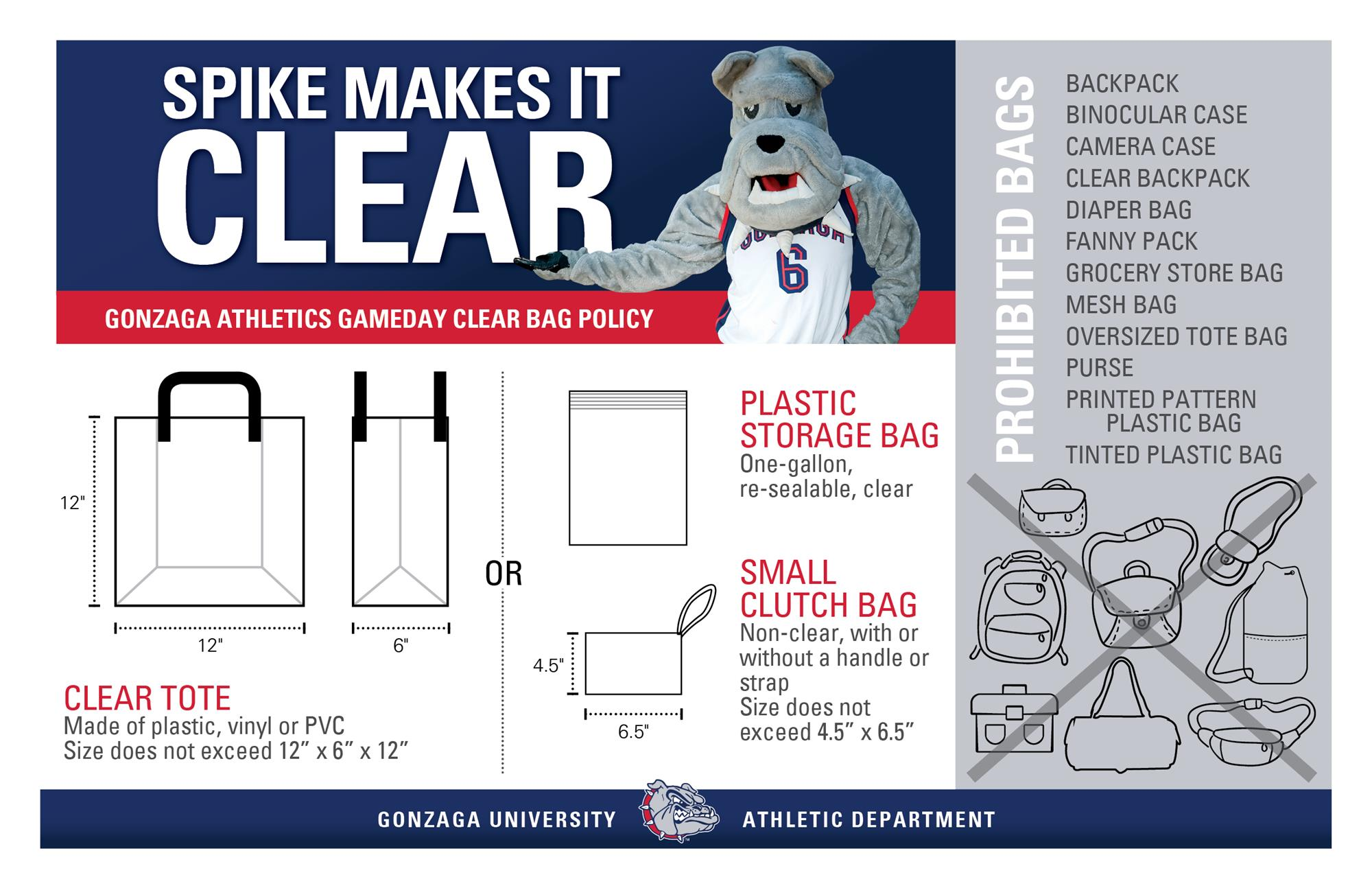 hight resolution of clear bag policy graphic