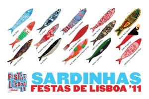 cartel fiestas de San Antonio de Lisboa