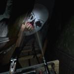 △プレイヤーはコースターに乗り込み、『Until Dawn -惨劇の山荘-』の世界をテーマにした施設を冒険することになる。