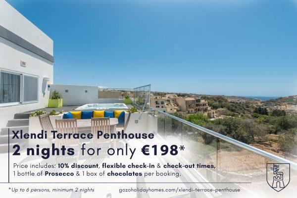 Xlendi Terrace Penthouse