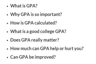 The Ultimate Guide on GPA | GPA Calculator