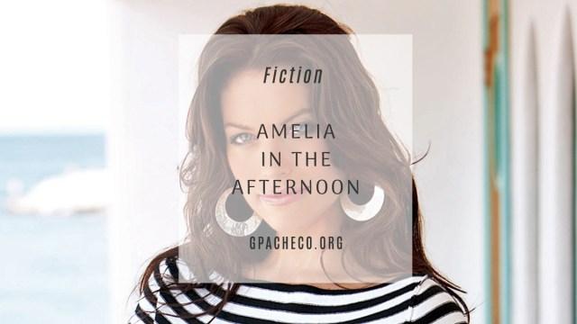 model Kim Smith as Amelia Christophe