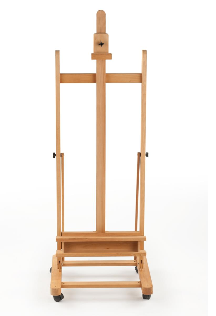 Wooden Easel  Sturdy Frame for Studio Use