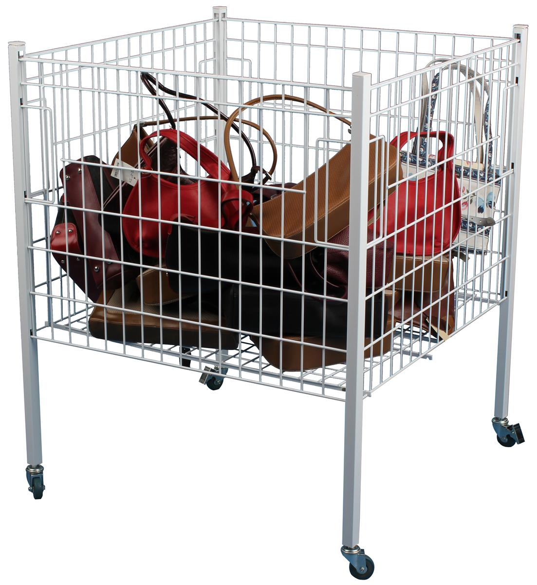 Collapsible Steel Shopping Cart