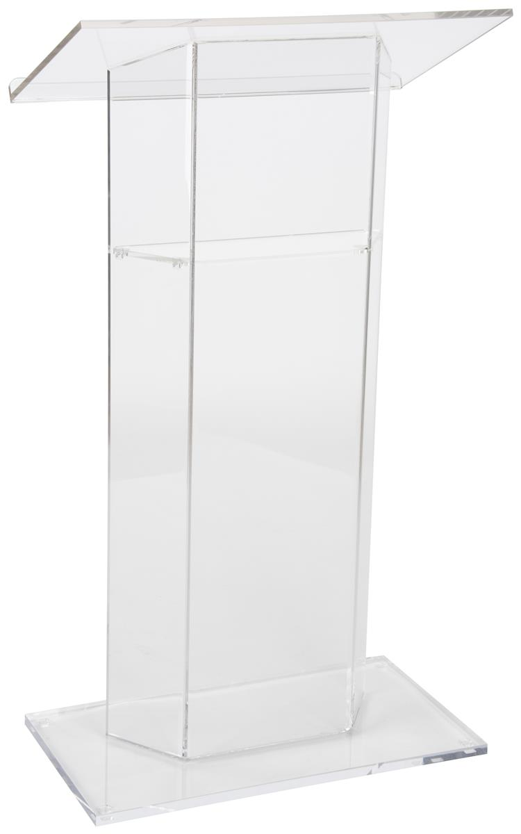 Clear Podium  See Through Acrylic Lectern