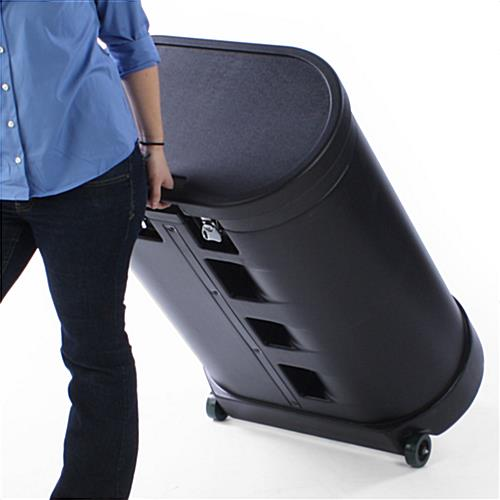 Hard Shell Carrying Case  Convertible Trade Show Accessory