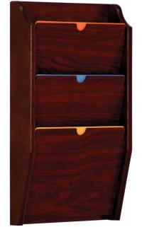 Wall File Holder | Chart Rack with Three Tiers