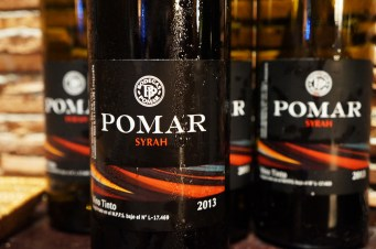 Vino tinto varietal Syrah 2013, de Bodegas Pomar