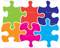 interlocking jigsaw pieces