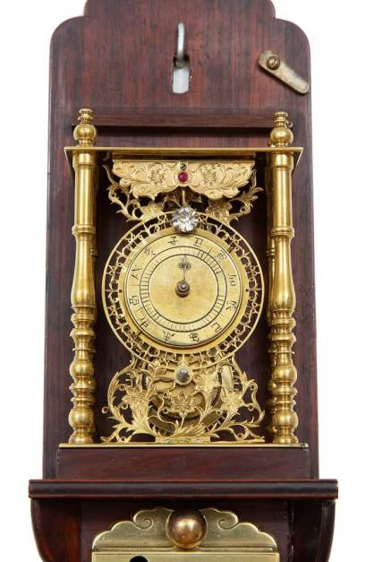 Japanese-antique-clock-shaku-dokei-pillar-clock-shitan-meiji-striking-3-1