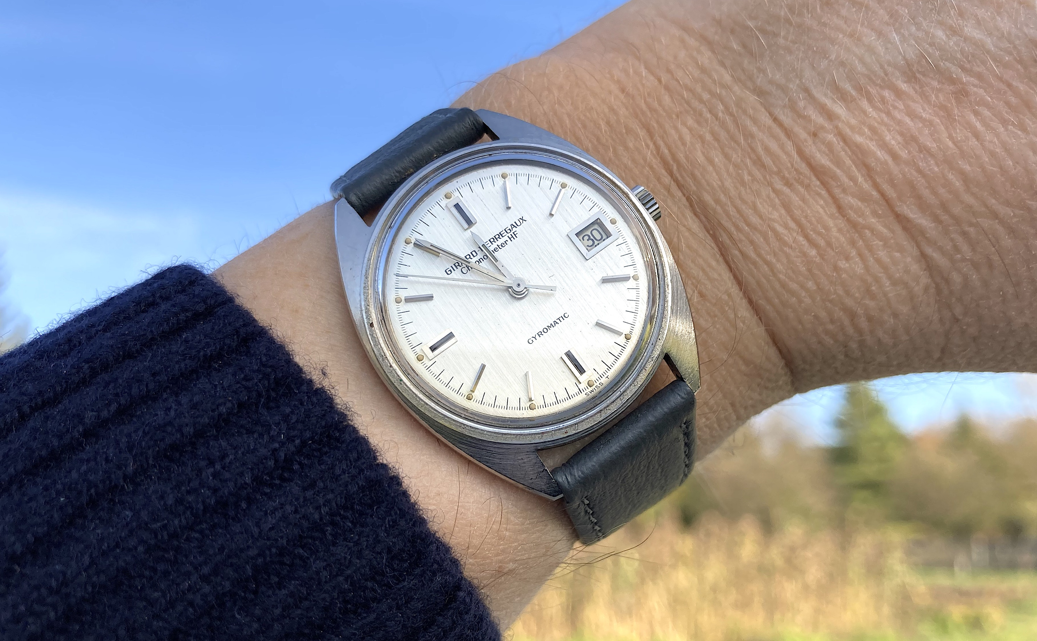 from/my/collection: Girard-Perregaux 8795 X, Chronometer HF