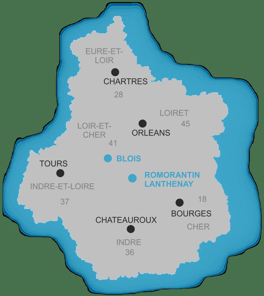 GP courtage Assurance à Blois et Romorantin dans le Loir et Cher