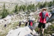 Towards Sheep Peak