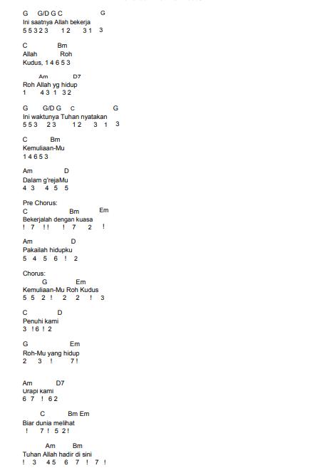 Roh Kudus Hadir Disini Chord : kudus, hadir, disini, chord, Songs, Lyrics, MAHANAIM, Tegal