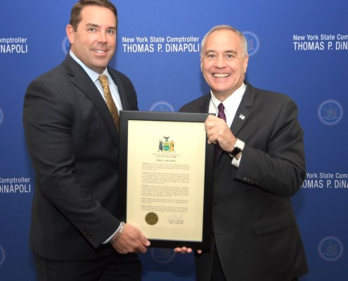 Generoso Pope Foundation Tuckahoe David DiNapoli Comptroller New York State NYS