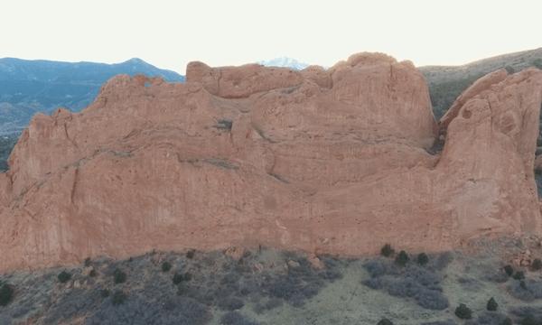 Garden of the Gods – Move Toward Huge Rock #2