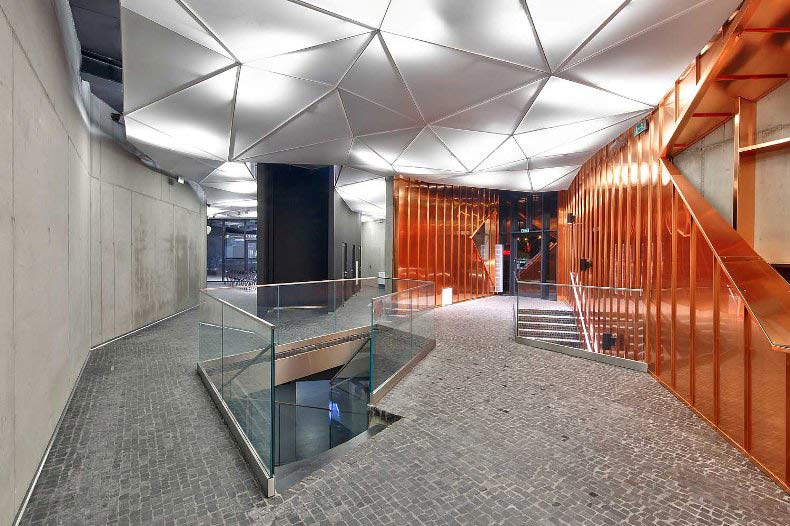 Impactful Entry Space Museum of Fire  GPI Design