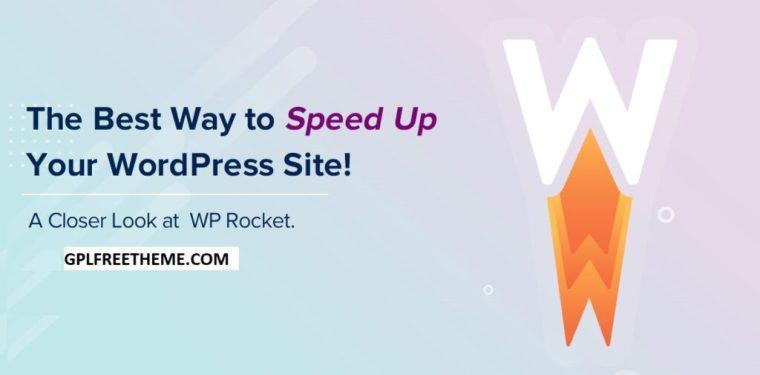 WP Rocket v3.8.1 Plugin Free Download