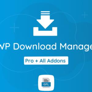 WP Download Manager Pro GPL Plugin Download