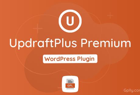 UpdraftPlus Premium GPL Plugin Download