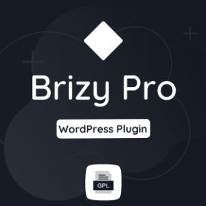 Brizy Pro GPL Plugin Download