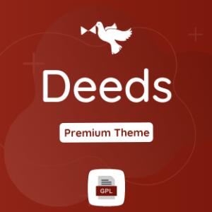 Deeds GPL Theme Download