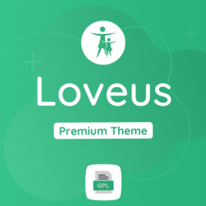 Loveus GPL Theme Download