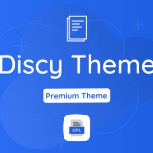 Discy GPL Theme Download