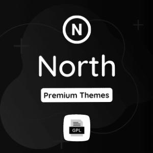 North GPL Theme Download
