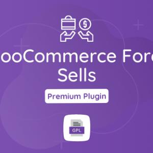 WooCommerce Force Sells GPL Plugin Download