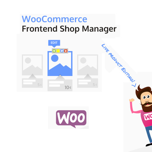 WooCommerce-Frontend-Shop-Manager