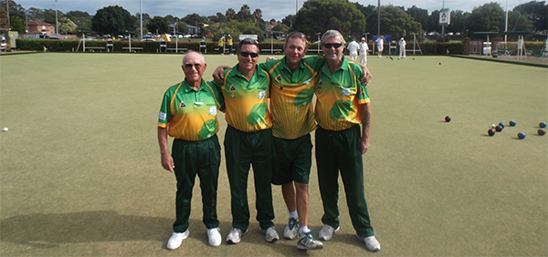 Mens Bowls Zone 10 4s Champions