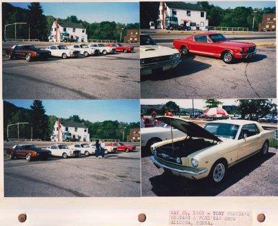 May 24, 1987: Tony Branda's Mustang & Ford Car Show; Altoona PA