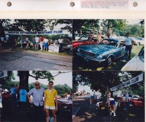 July 19, 1987: LaRoche College, North Hills Historic Auto Club Car Show; North Hills PA