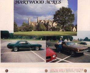Sept. 13, 1987: Hartwood Acres Tour; Saxonburg Blvd.; Saxonburg PA