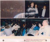 """Oct. 18, 1987: Big Band Dinner Cruise; Cruise of the Three Rivers of Pgh aboard the river boat """"Majestic"""""""