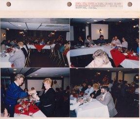 Dec. 20, 1987: 1st XMAS Party; Carmody's Restaurant; Route 910, Wexford PA