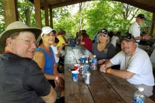 Clockwise from left: Bill, ValJean, Lisa, Rich