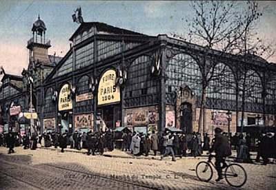 Pendant la Foire de Paris en 1904