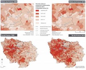 Atlas Plaine de France-catégories socioprofessionnelles