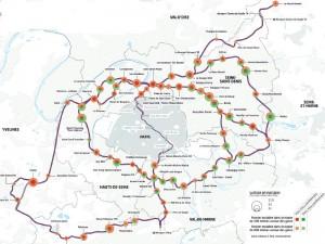 Gisement foncier sur le tracé du Grand Paris Express - Crédit : Société du Grand Paris