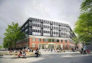 ESPCI projet nouvelle entrée place Kastler