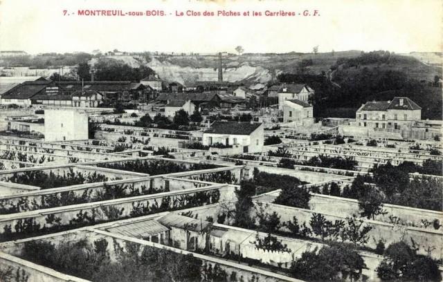 Montreuil sous bois Carriere et MursPeches
