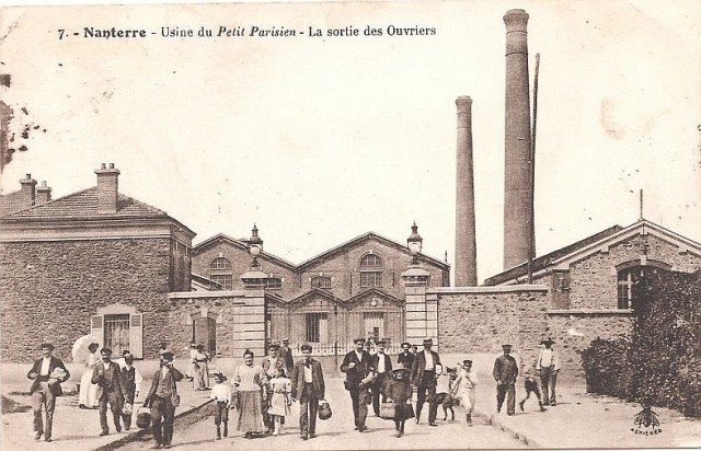 Nanterre usine du petit parisien