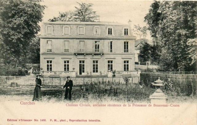 Chateau Civiale, actuelle mairie