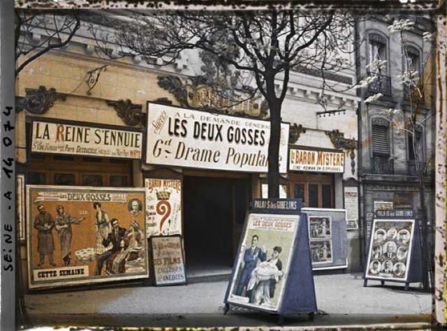 Ciné Pathé Palais des Gobelins en 1918